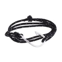черный браслет крюк