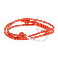 Оранжевый браслет крюк